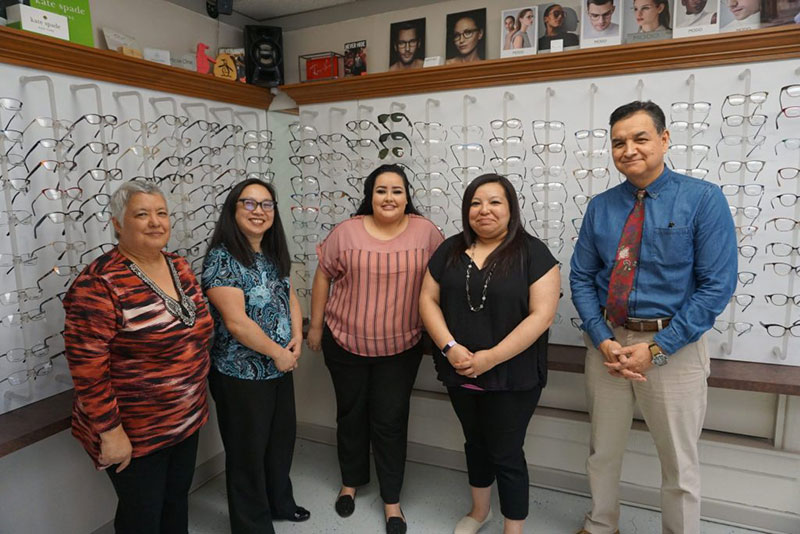 eyes of texas vision care team